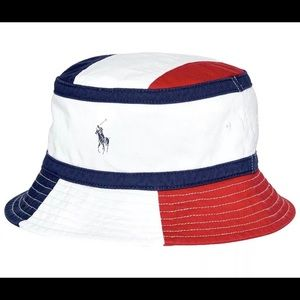 Polo Ralph Lauren Chariot Red White Blue BucketHat